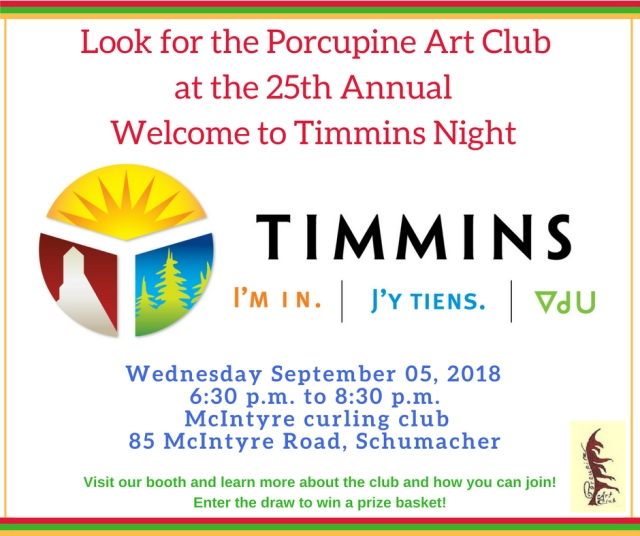 Welcome to Timmins Night 2018