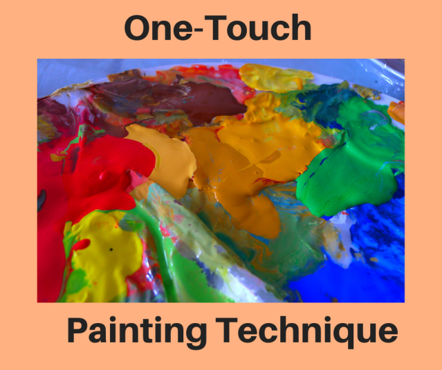 one touch painting